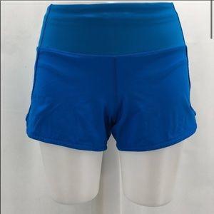 Lululemon run time shorts blue size 4